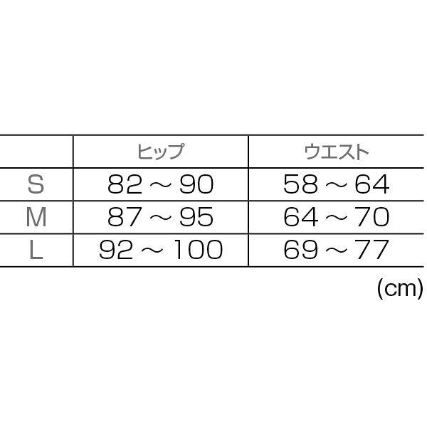 CW-X PARTS腰用(女性用) BCY 303 ブラック L コンプレッションウェア コンディショニングウェア 1枚 (直送品)