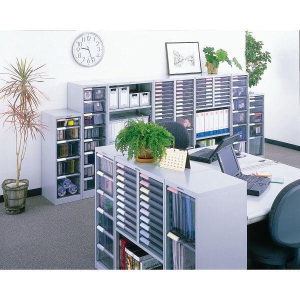 ナカバヤシ メディシス フロアケース フロアタイプA4 H1200 M×10 幅600×奥行370×高さ900mm MAF-W112N 1台 (直送品)