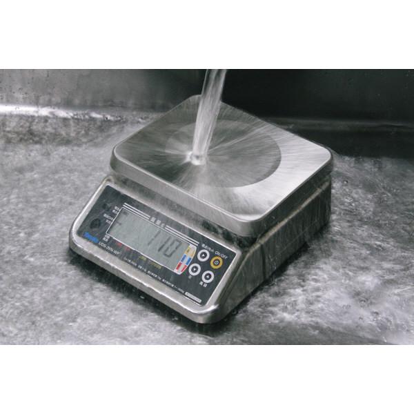 防水型デジタル上皿はかり UDS-5V-WP 6kg 検定品 UDS-5V-WP-6-2 大和製衡 (直送品)