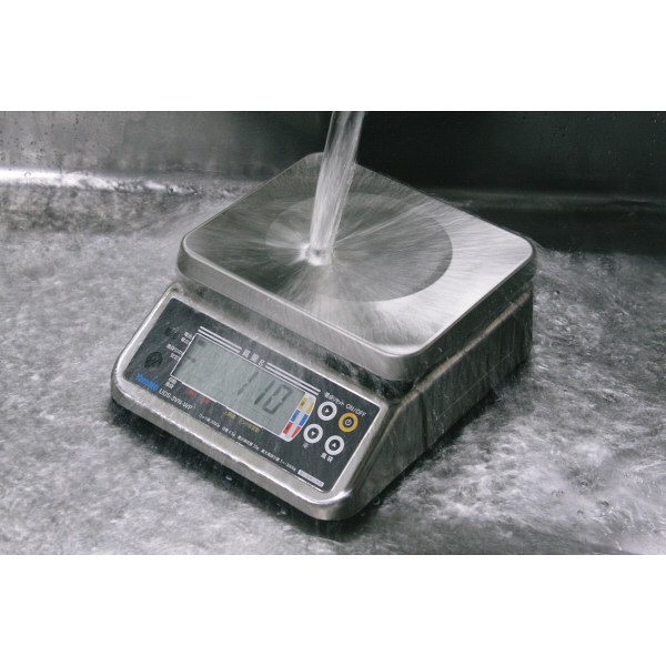 防水型デジタル上皿はかり UDS-5V-WP 6kg 検定品 UDS-5V-WP-6-5 大和製衡 (直送品)