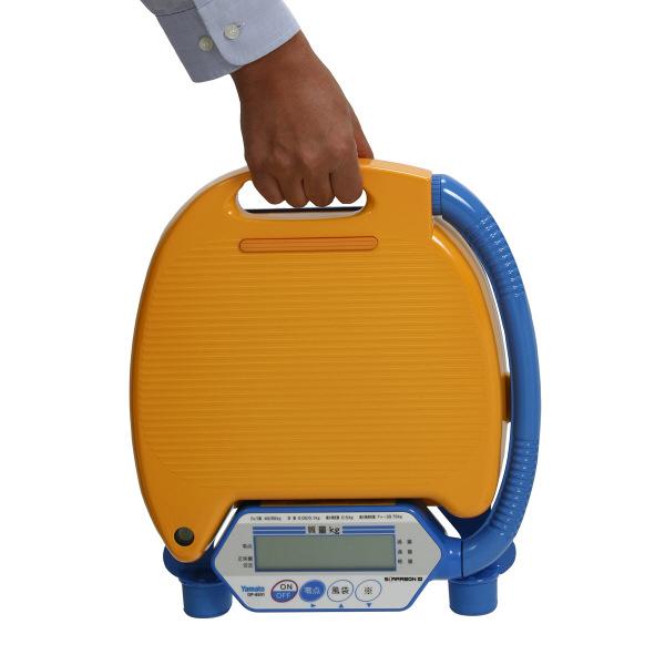 ポータブルデジタル台はかり スカラボンIII 80kg 検定品 DP-8501K-80 大和製衡 (直送品)