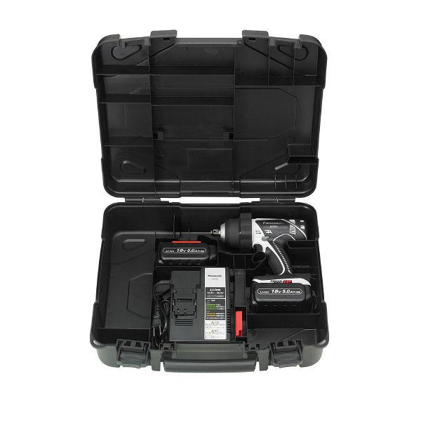 パナソニック Panasonic 充電インパクトレンチ 18V 5.0Ah EZ7552LJ2S-H (直送品)