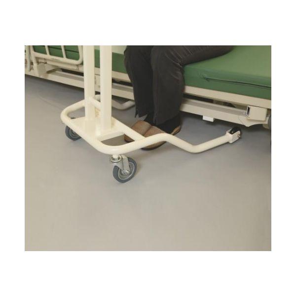 ナビス(アズワン) らくらくあるくん(R)~低床型~(ネスティング歩行器) グリーン Rkun-LG 1個 8-9293-03(直送品)