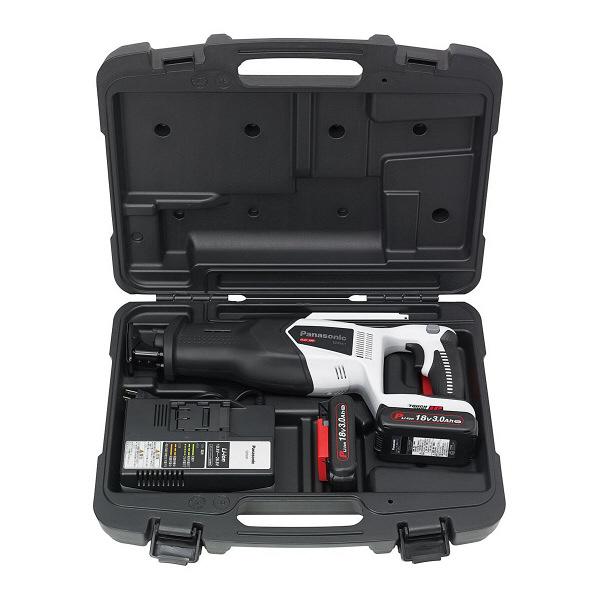 パナソニック Panasonic 充電レシプロソー 18V 3.0Ah グレー EZ45A1PN2G-H (直送品)