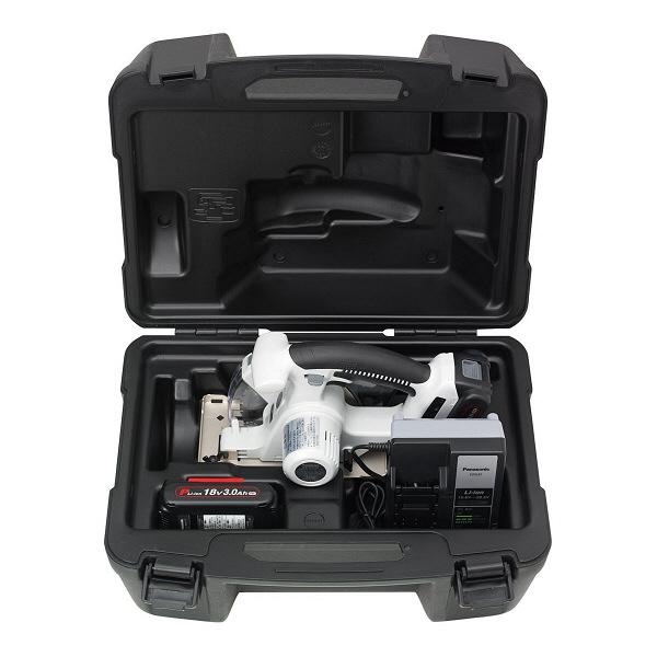 パナソニック Panasonic 充電パワーカッター 18V 3.0Ah グレー EZ45A2PN2G-H (直送品)