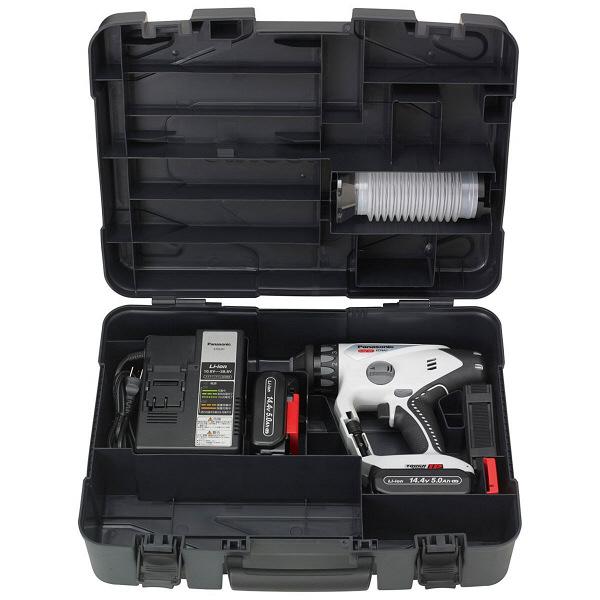 パナソニック Panasonic 充電マルチハンマードリル 14.4V 5.0Ah グレー EZ78A1LJ2F-H (直送品)