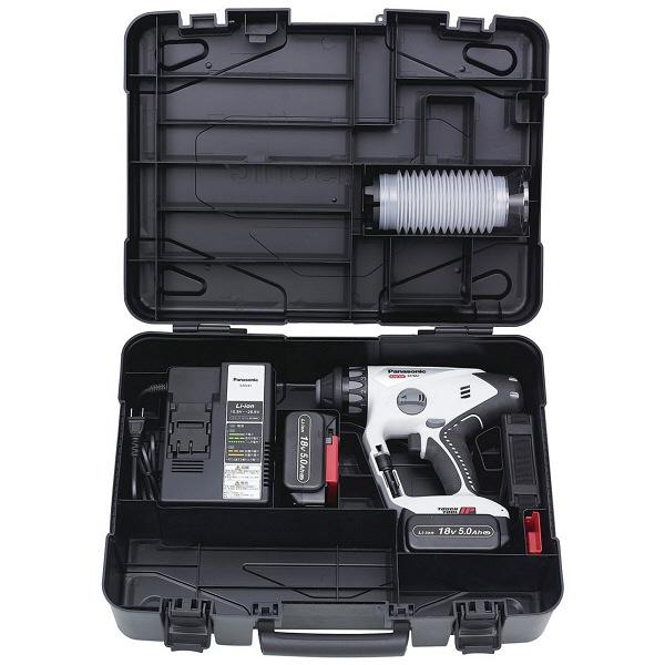 パナソニック Panasonic 充電マルチハンマードリル 18V 5.0Ah グレー EZ78A1LJ2G-H (直送品)