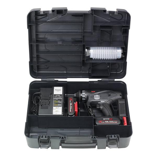 パナソニック Panasonic 充電マルチハンマードリル 18V 3.0Ah ブラック EZ78A1PN2G-B (直送品)