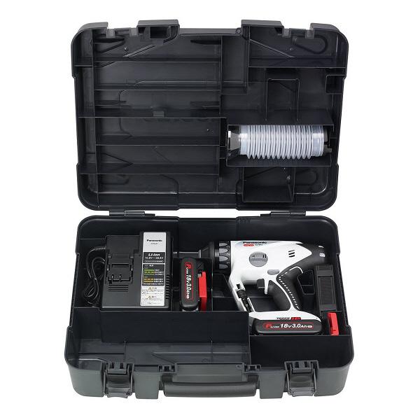 パナソニック Panasonic 充電マルチハンマードリル 18V 3.0Ah グレー EZ78A1PN2G-H (直送品)