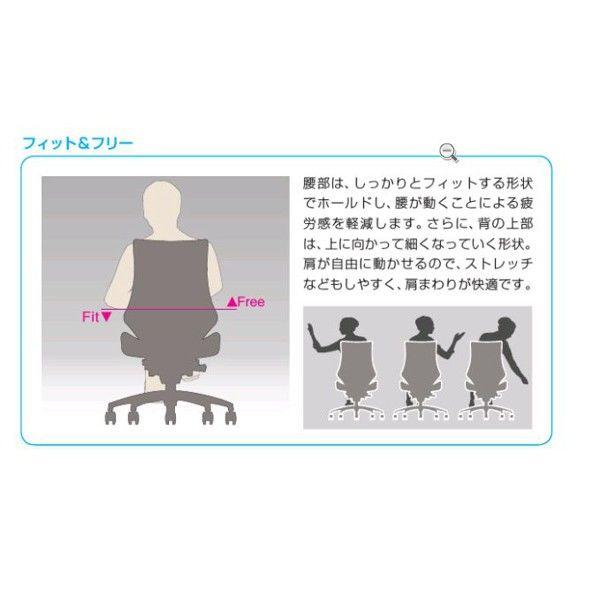 イトーキ エフチェア クロスバック ローバック ブラックフレーム ブラック樹脂脚 肘なし 背座:モスグリーン 1脚 (直送品)