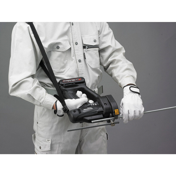 パナソニック Panasonic 【DUAL】 充電全ネジカッター 18V 5.0Ah ブラック EZ45A4LJ2G-B (直送品)