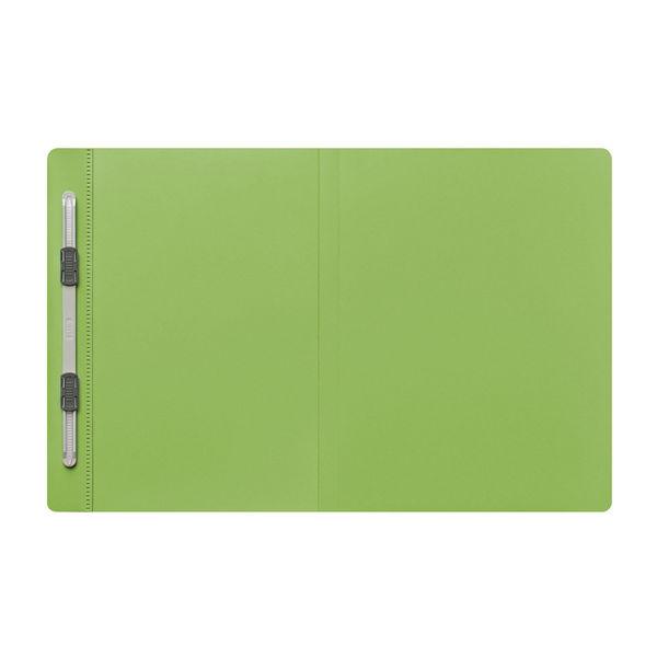プラス PPフラットファイルB4二つ折りLGR 98384 (直送品)