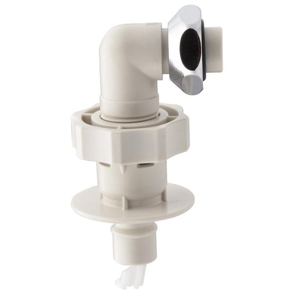 自動洗濯機用 給水ホース 3.0m ワンタッチ給水ジョイントセット(水漏れ防止 ストッパーつき 取付ネジ2サイズ兼用 取付簡単) GA-LC013 (直送品)