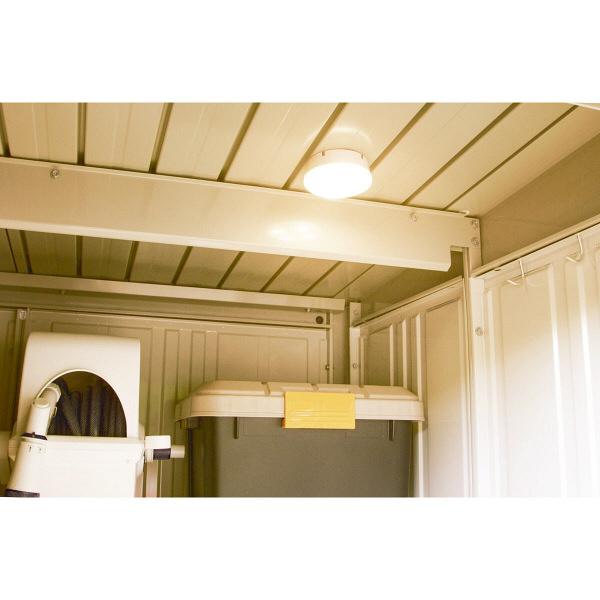 アイリスオーヤマ 乾電池式屋内センサーライト マルチタイプ 電球色 シーリングライト BSL40ML-W (直送品)