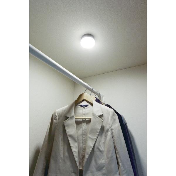 アイリスオーヤマ 乾電池式屋内センサーライト マルチタイプ シーリングライト BSL40MN-M (直送品)