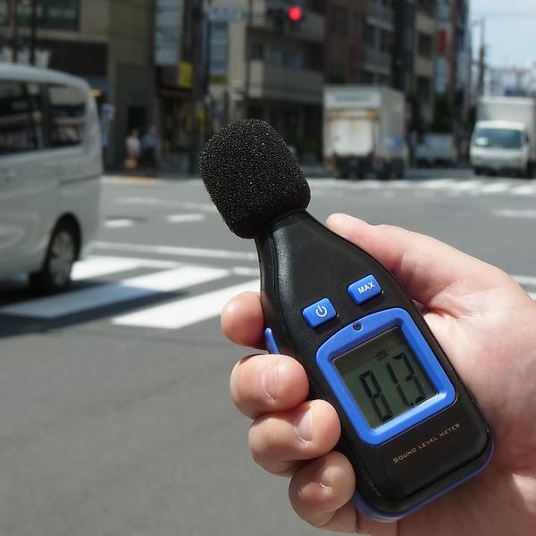カスタム デジタル騒音計 SL-100U (直送品)