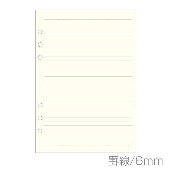 エトランジェ・ディ・コスタリカ A5 6Hリフィルケイアイボリー A5RFーDー02 5冊 (直送品)