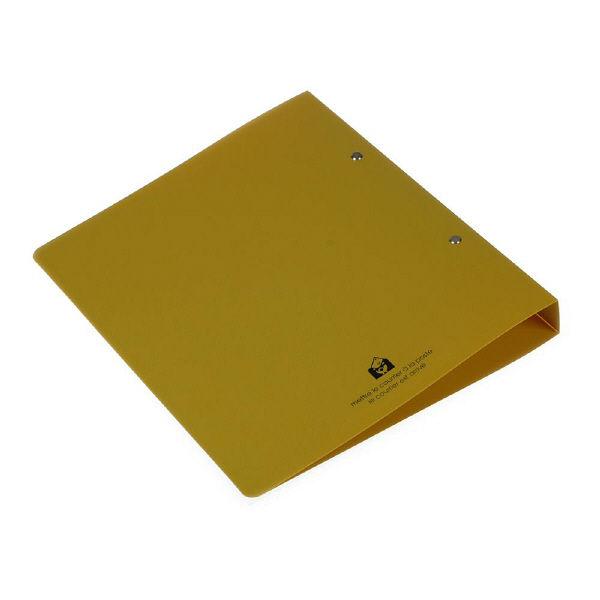 エトランジェ・ディ・コスタリカ A4ファイル[SOLID]マスタード SLDー02ー13 6冊 (直送品)