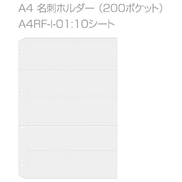 エトランジェ・ディ・コスタリカ A4名刺ファイル[GREEN]No1 GRNー19ー01 3冊 (直送品)