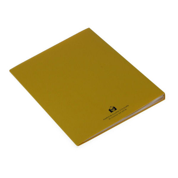 エトランジェ・ディ・コスタリカ A4クリアファイル40[SOLID]マスタード SLDー72ー13 3冊 (直送品)