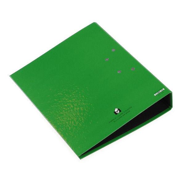 エトランジェ・ディ・コスタリカ A4レバーファイル75[SOLID2]グリーン SLD2-00-08 2冊 (直送品)