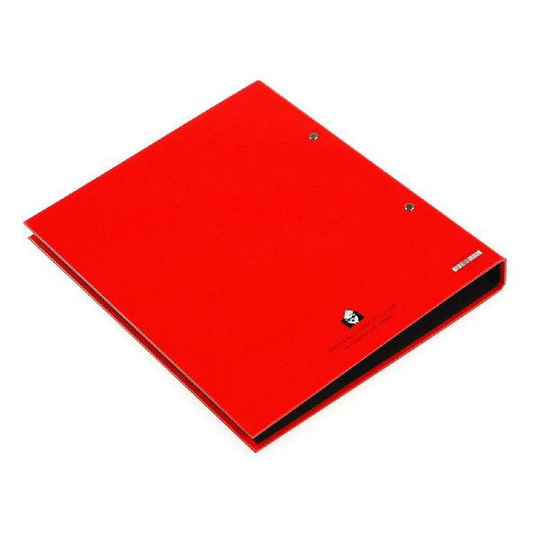 エトランジェ・ディ・コスタリカ A4 2Hファイル[SOLID2]レッド SLD2ー02ー04 4冊 (直送品)
