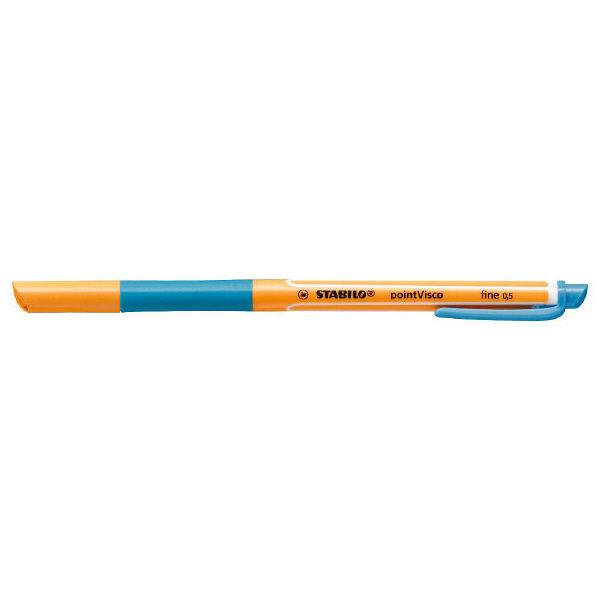 エトランジェ・ディ・コスタリカ ボールペン 水性ゲルインク STABILO ポイントビスコ 0.5mm アズール 1099-51 5本入り (直送品)