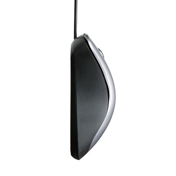 エレコム 静音有線マウス(3ボタン) M-BL24UBSSV (直送品)