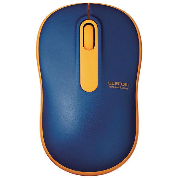 エレコム 無線マウス 光学式 Mサイズ ネイビー M-DY11DRNV (直送品)