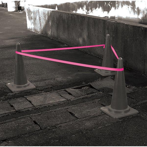 シンワ測定 マーキングテープ 15mm×50m 蛍光ピンク 74161 1セット(20個) (直送品)