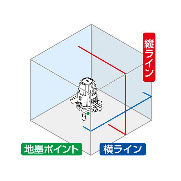 レーザーロボ Neo 21 BRIGHT 縦・横・地墨 77354 シンワ測定 (直送品)