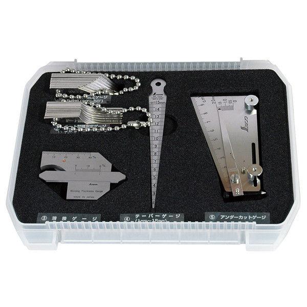 鉄骨精度測定器具 5点セット 97575 シンワ測定 (直送品)