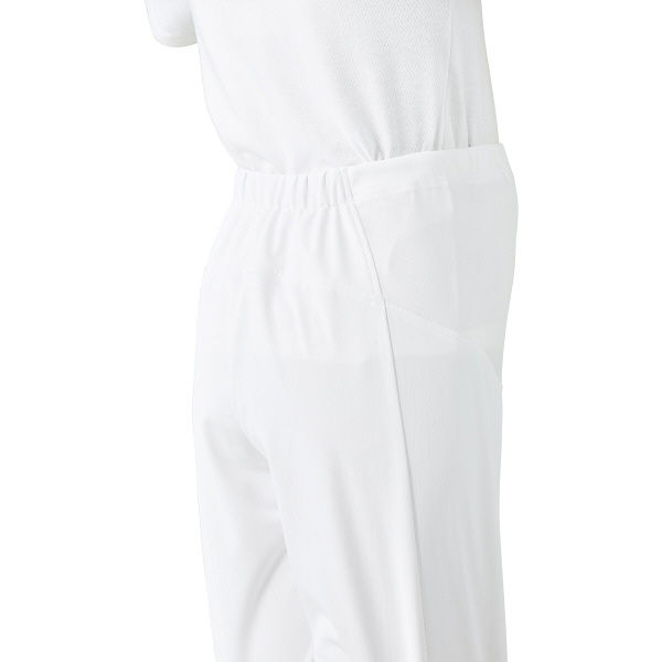 KAZEN(カゼン) マタニティ用パンツ ホワイト L 847-40 1着 (直送品)