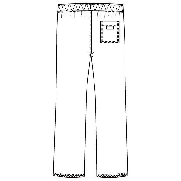 フォーク ディッキーズ 医療白衣 ストレートパンツ 5019SC ガンメタ SS 1枚 (直送品)