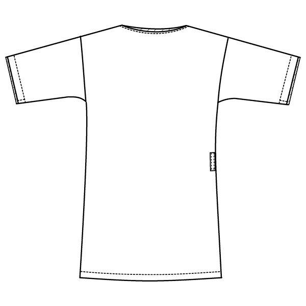 フォーク 医療白衣 メンズジップスクラブ 7025SC バーガンディ S 1枚 (直送品)