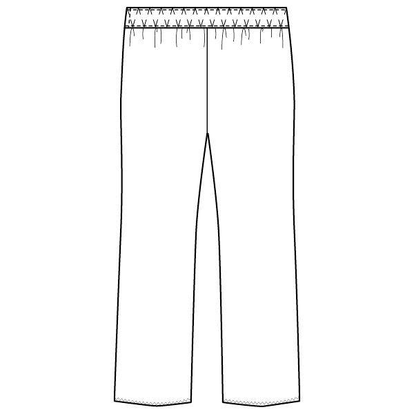 フォーク 医療白衣 マタニティパンツ 8003CR ネイビー M 1枚 (直送品)