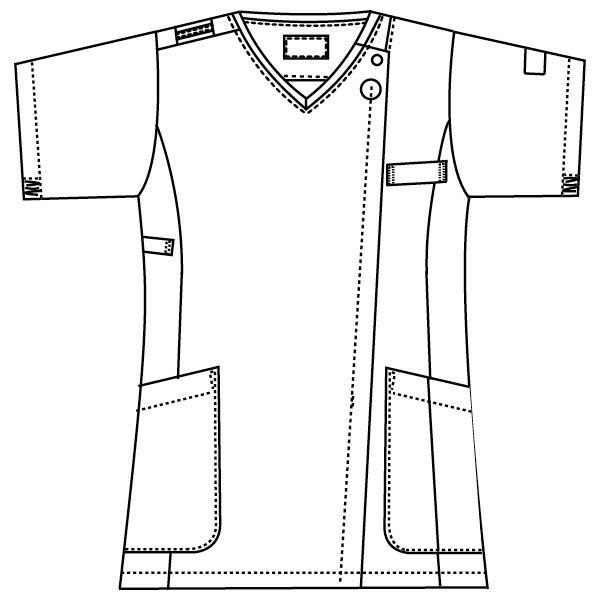 ワコールHIコレクション レディスジップスクラブ HI704 ランジアパープル M FOLK(フォーク) (直送品)