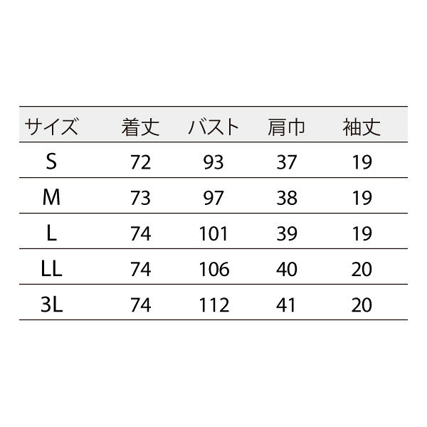 住商モンブラン ナースジャケット 医療白衣 レディス 半袖 白/ブロンズ LL 73-2202 (直送品)