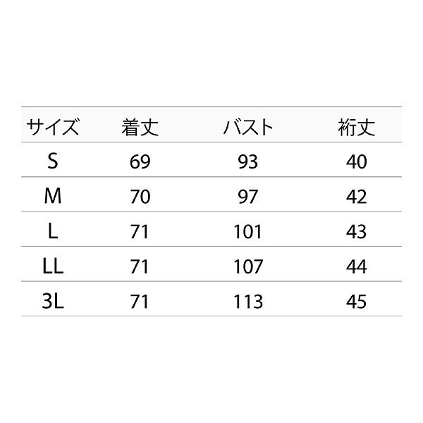 住商モンブラン レディスジャケット(半袖) 医療白衣 ホワイト×ウォームブルー L CHM052-0194 (直送品)