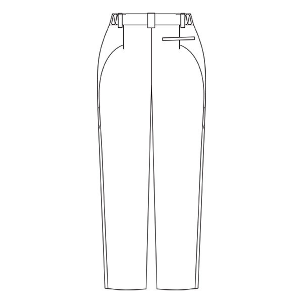 住商モンブラン アシックス レディスパンツ 医療白衣 ホワイト LL CHM151-0101 (直送品)