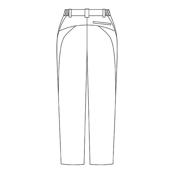 住商モンブラン メンズパンツ 医療白衣 ホワイト M CHM651-0101 (直送品)