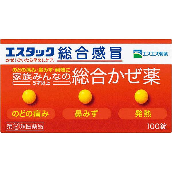 エスタック総合感冒 100錠 2箱セット