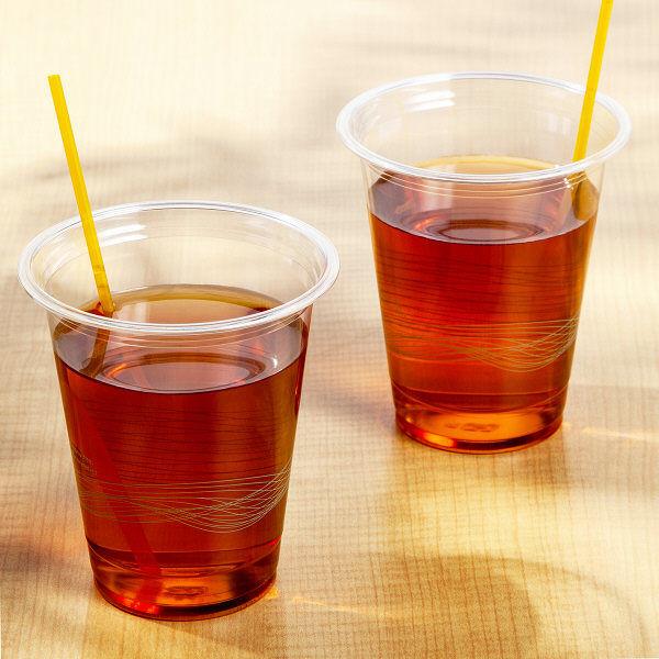 プラカップ リサイクルPETカップ 370ml(12オンス) 1袋(50個入) 竹内産業