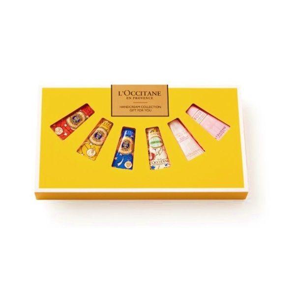 【数量限定】L'OCCITANE(ロクシタン) ハンドクリーム GIFT FOR YOU 6個入 ショップバック付き