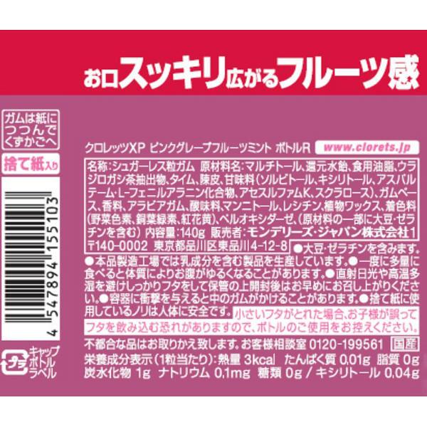 ピンクグレープフルーツミントボトルR