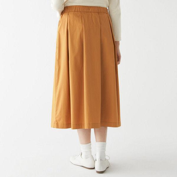 無印 イージーギャザースカート  婦人S