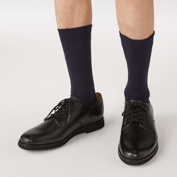 無印 口ゴムなし 靴下 紳士 3足