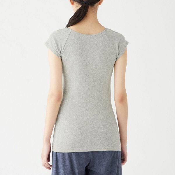 無印フレンチスリーブTシャツ2枚 婦人M