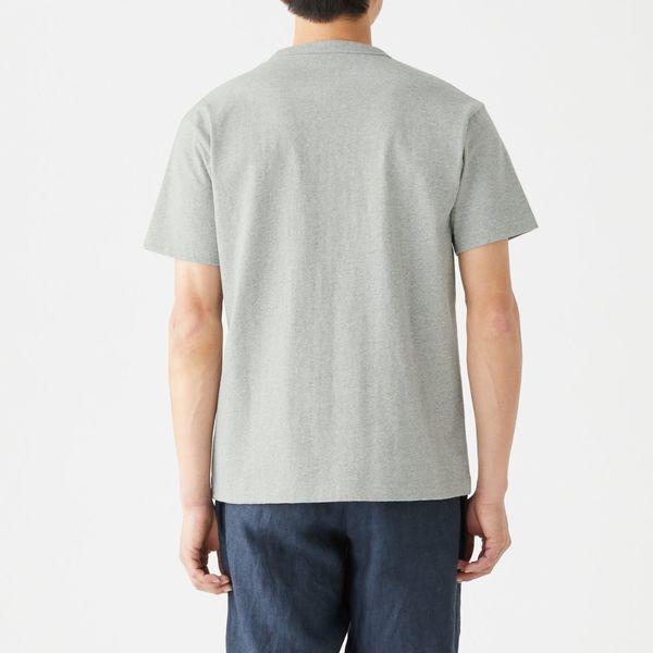 無印 天竺編み半袖Tシャツ 紳士 M