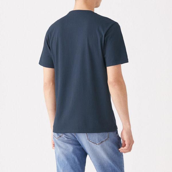 無印 天竺編み半袖Tシャツ 紳士 XL